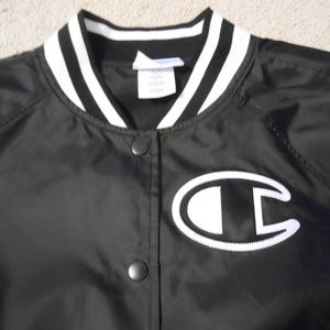Champion Heritage Satin Jacket NWT